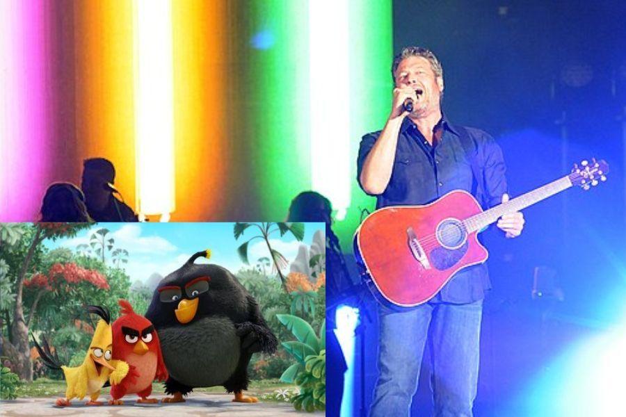 Playlist Niños - Blake Shelton - Friends from Angry Birds Film