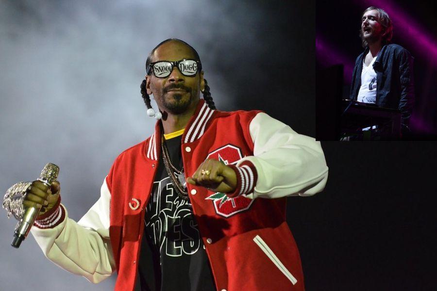 Playlist Car Music | David Guetta & Snoop Dog - Sweat | This is a modification of the photo Snopp Dogg 01 by Rodrigo Ferrari, on Flickr + Eva Rinaldi / CC BY-SA (https://creativecommons.org/licenses/by-sa/2.0)