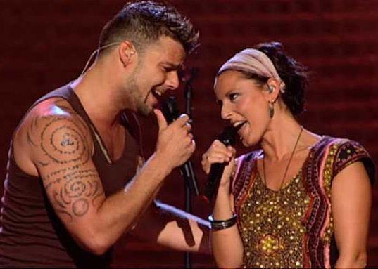 Tu Recuerdo and Ricky Martin songs