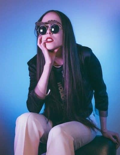 Allie X glam