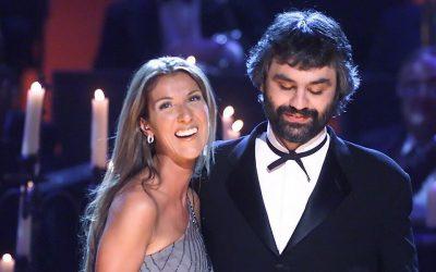 ANDREA BOCELLI y CELINE DION The Prayer 🙌🏽  Uno de los mejores duetos de la historia