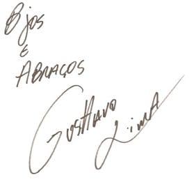 Autografo Gusttavo Lima